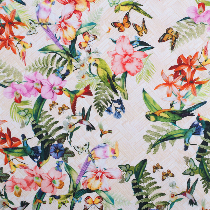 tropical digitally printed mercerized cotton woven 308443 11