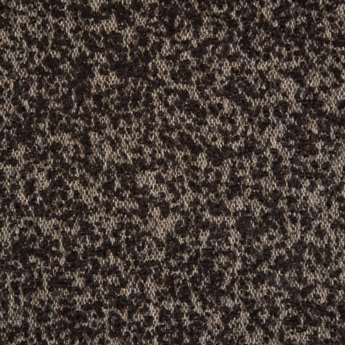 turkish coffee white swan spotted wool boucle 310928 11