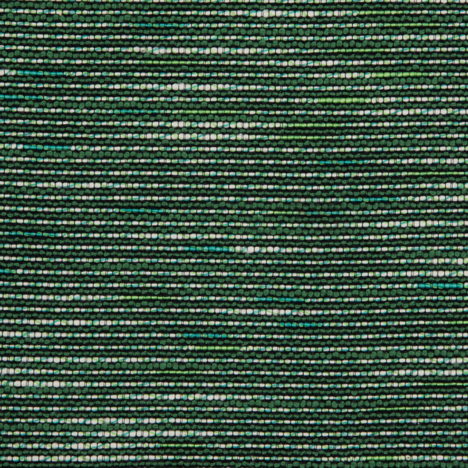 vibrant green black white cotton polyester tweed 310811 11