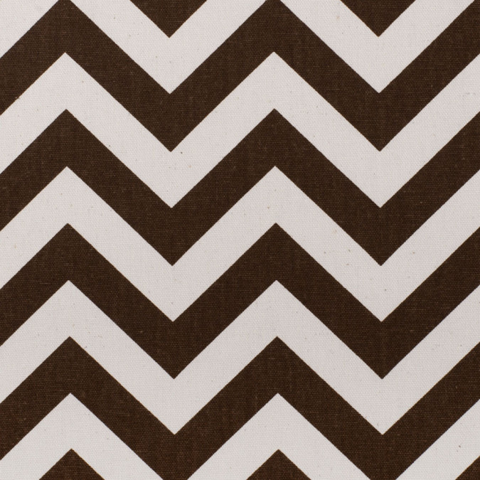 village brown natural zig zag canvas hc21996 11