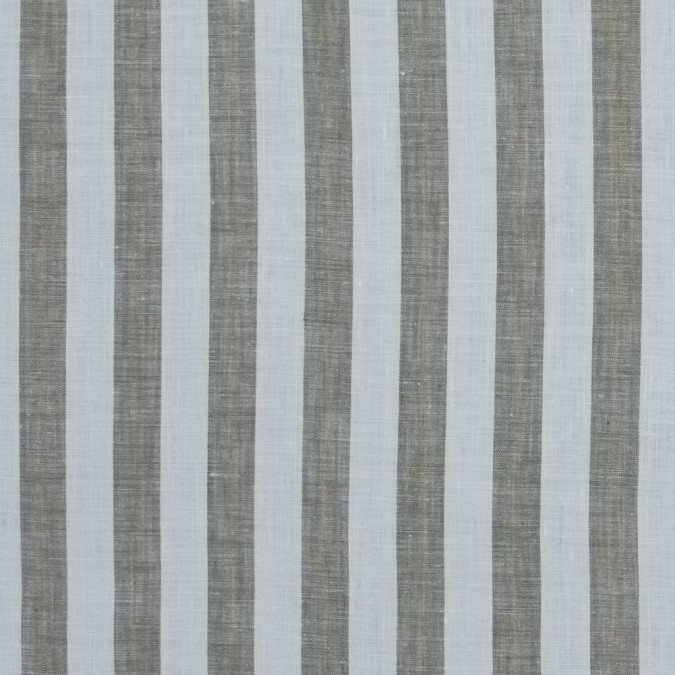 vintage khaki and white awning striped linen woven 317599 11