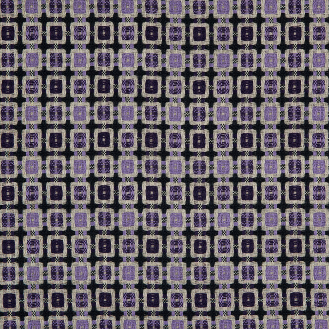 violet amaranth purple geometric blended woven 310905 11