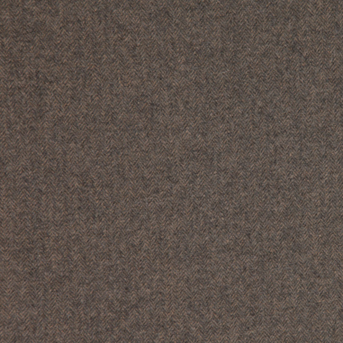 warm gray herringbone calvin klein cashmere coating fw23987 11