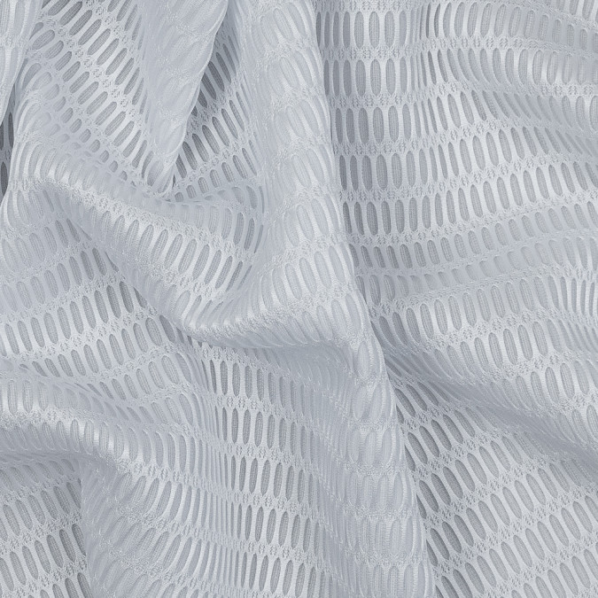 white novelty spacer mesh with oval design 318091 10
