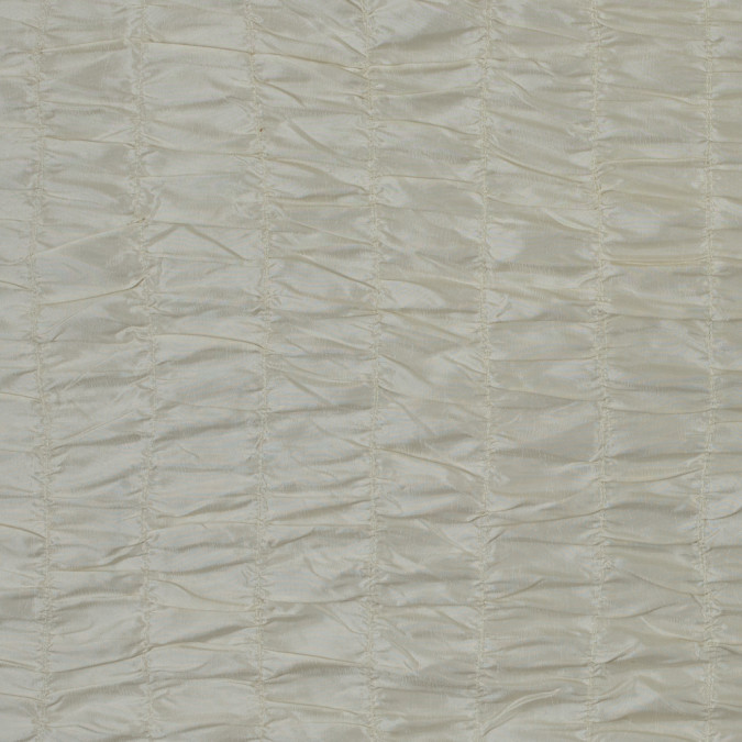 winter white ruched polyester taffeta 315483 11