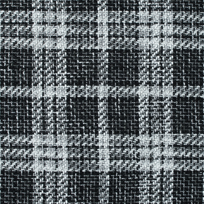 xblack and white plaid polyester tweed 315222 11 jpg pagespeed ic W2uif QCgo